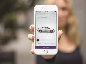 car sharing app development
