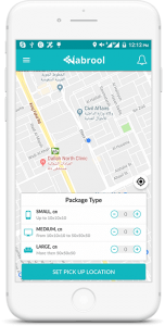 Uber for delivery app