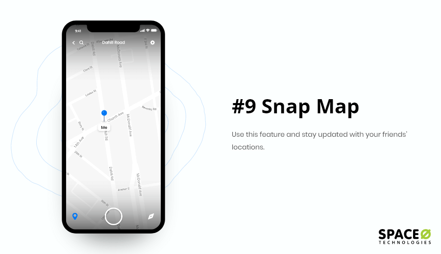 Snap Map Feature