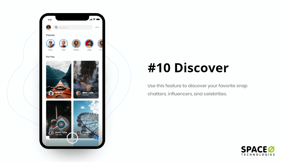 Discover Feature