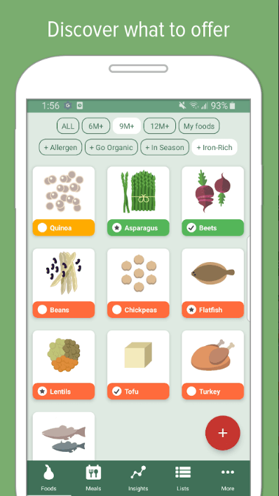 baby meal planner app development