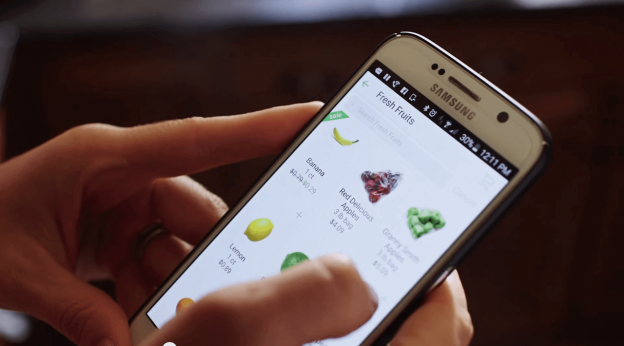 grocery ordering app development