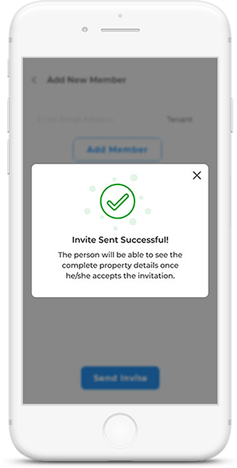 Reposit App Send Invite