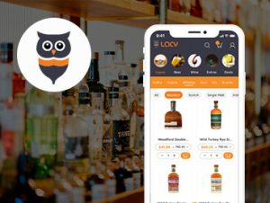Lacy Alcohol Delivery App