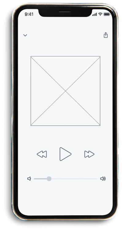 iphone wireframe mockup