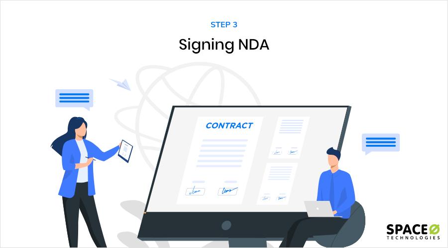 Signing NDA