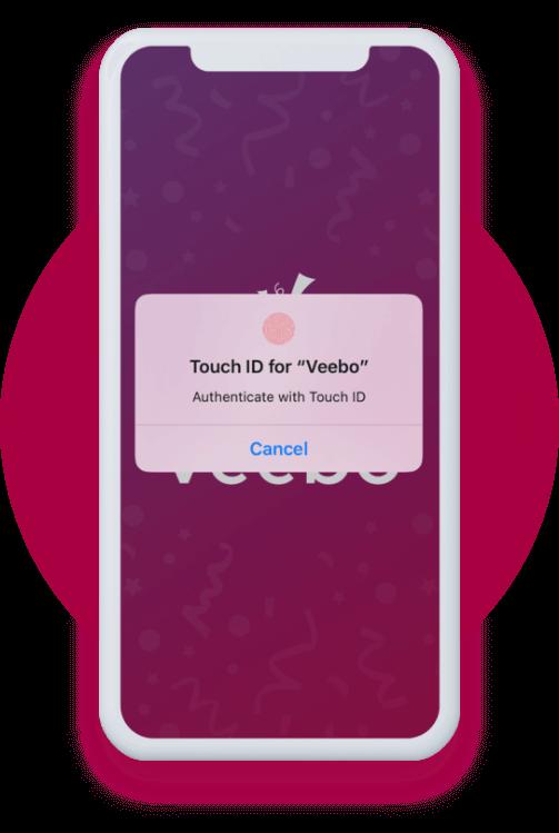 Touch ID unlock