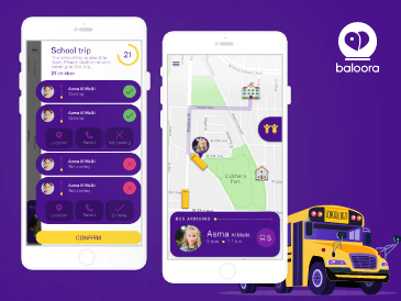 ballorah school tracking app