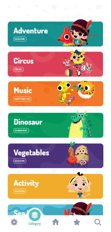Video Categories
