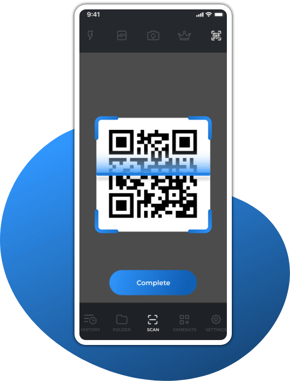 QR code app Batch screen