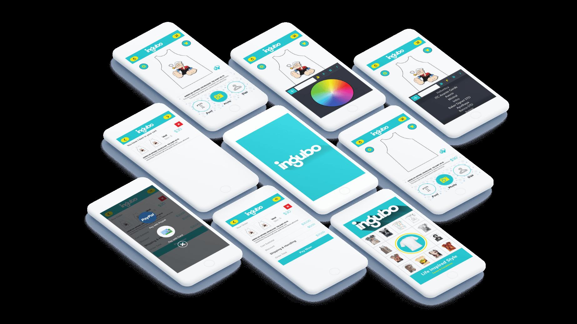 ingubo app screen