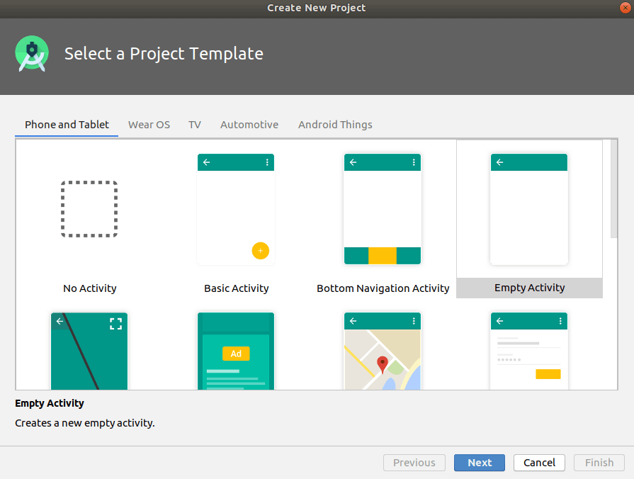 create-project